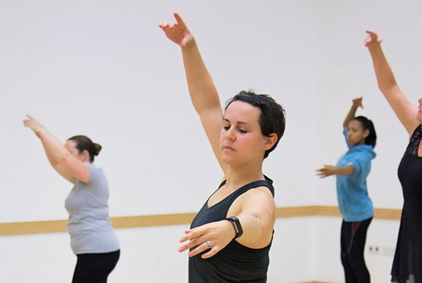 One of our Adult Ballet students during our Reigate class