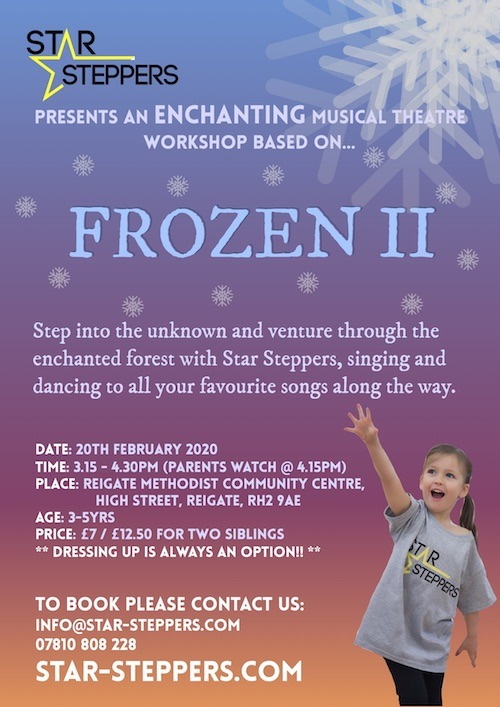 Frozen 2 Workshop by Star Steppers